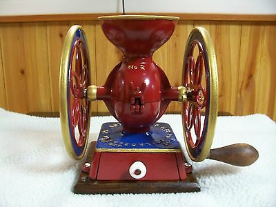 "Enterprise ""Baby"" # 2 two wheel Coffee Grinder/VG cond./Recently refurbished"
