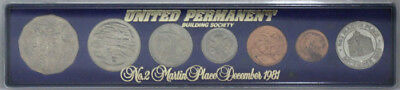 Australia 1981 'Unofficial' Coin Set 1¢ to 50¢ (6 coins) UNC