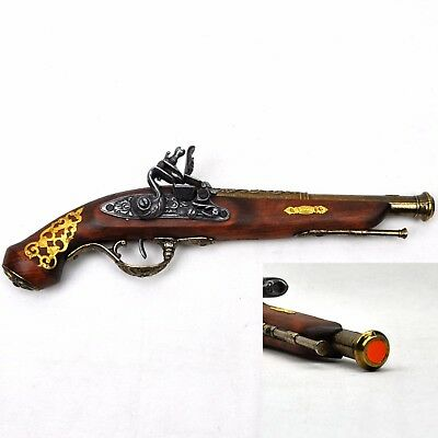 Denix Replica 17th Century England Flintlock Pistol Non-Firing Ref 1240