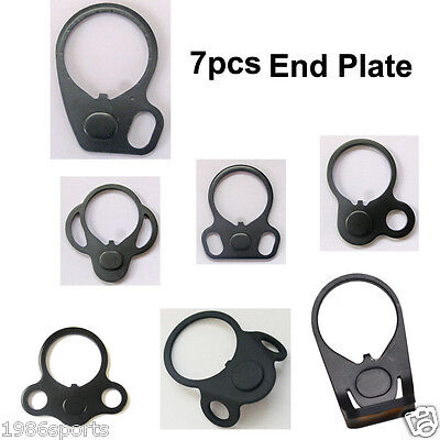 Lot Pack Of 7! Hunting  the End Plate Sling Adapter Mount Accessories #L29