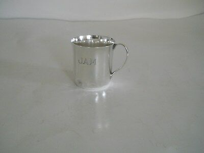 Vintage Sterling Silver Tiffany And Co. Childs Handled Cup.