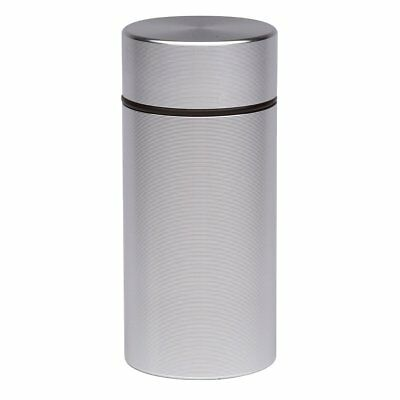 Herb Container Airtight Smell Proof Aluminum Stash Jar Weed Bud Storage NEW TAX0