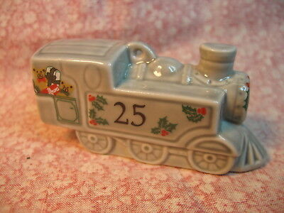 -Wade Train Christmas Ornament, FREE POSTAGE