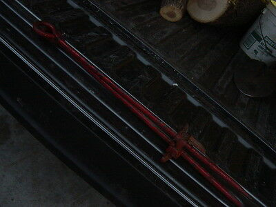 NOS two Rare Check Row Wire Stake Rod Genuine IH McCormick Farmall Corn Planter