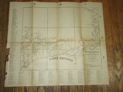1920 Pathfinders Road Map of Portion of Ontario