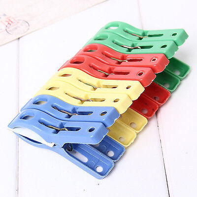 8PCS Beach Towel Clips Fun Bright Colors Keep Your Towel Blowing Away