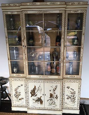 Dexel Heritage vintage white china cabinet