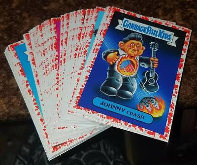 2017 Garbage Pail Kids Battle Of The Bands 48 Card Bloody Nose Parallel Lot /75