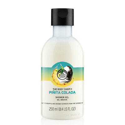 New Vegetarian The Body Shop Shower Gel Body Wash Pinita Colada Scent