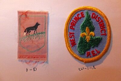 CANADA - 2  VINTAGE SCOUT BADGES -  #10 + check out our site