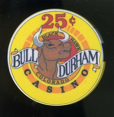 $.25 * Bull Durham Saloon & Casino * in Black Hawk, Colorado.