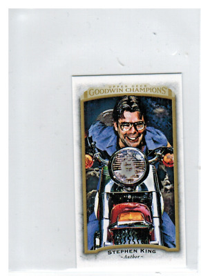 2017 Upper Deck Goodwin Champions Mini #100 Stephen King