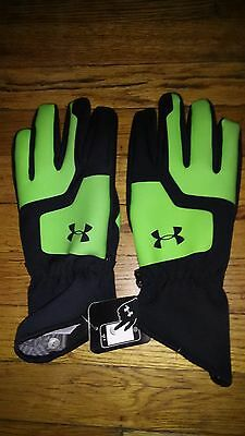 New Under Armour Ski Snow Boarding Gloves Size L