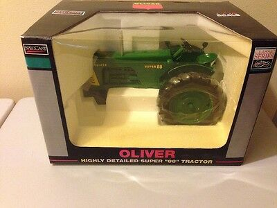 Speccast Oliver Super 88 Tractor  Model Highly Detailed