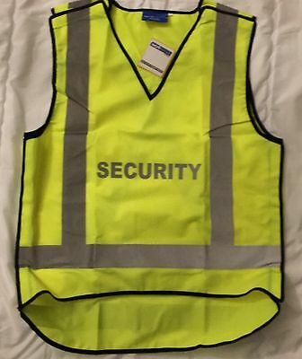 Workscene SECURITY Hi-Vis Vest Size L