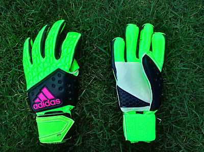 Adidas Ace Zones Pro Goalkeeper Gloves Solor Green