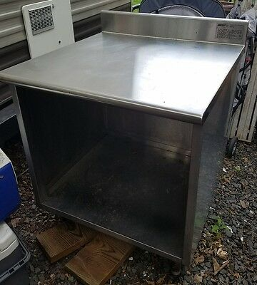 stainless steel prep table. Make an offer!