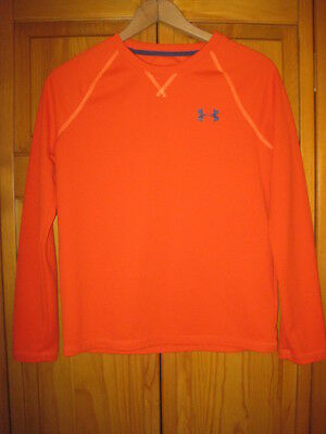 Under Armour All Season Gear Loose Fit long sleeve shirt YLG L orange fall