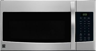Kenmore 80323 Microhood Stainless Steel Over-the-Range Microwave (1.6 Cu Ft, ...