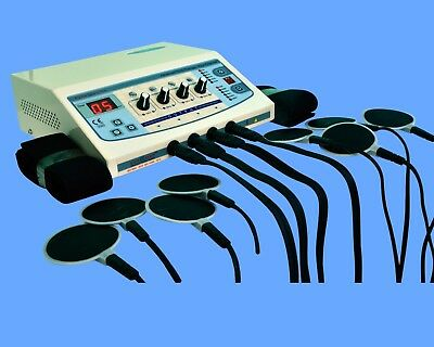 Electronic Electrotherapy 4 channel Multi Therapy Machine Pain Relief GHFD