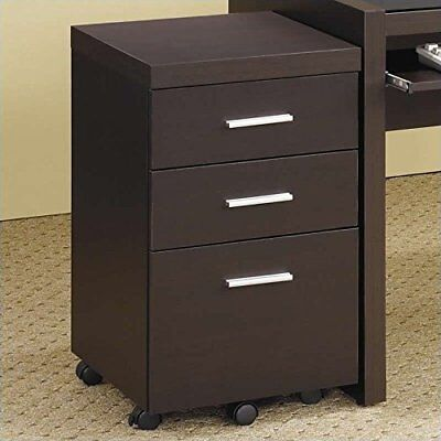 Coaster Home Office File Cabinet in Cappuccino Finish