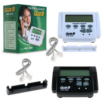 FSK/DTMF Mobile Telephone Caller ID Box Phone LCD Display Call History New