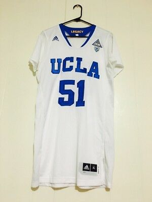 Adidas UCLA Basketball Game Used Team Issued Jersey Lonzo Ball Short Sleeved