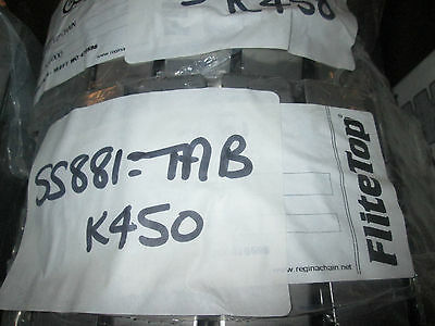 Ss881 Tab-K450 Stainless Slat Chain Austenitic X 10Ft Box