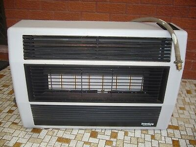 Gas Heater Everdure Brigadier 25 MJ with 7 Plates and has 3 Control Settings  .