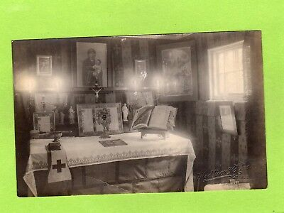 Church House interior RP pc unused Maddison & Hind St Ives Huntingdon Ref D912