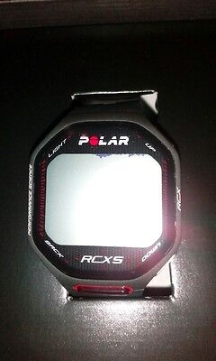 Polar RCX5 GPS HR USB Multisport Black ( EX DISPLAY ) With Marks on Screen