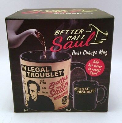 Breaking Bad - Better Call Saul Colour Changing Mug
