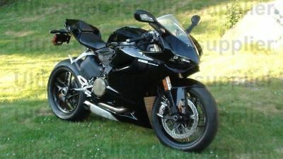 Gloss Black ABS Fairing Bodywork Injection For 2012-2014 Ducati 1199 Panigale