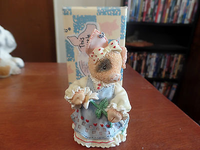 "Enesco This Little Piggy ""Sow In Love"" Figurine #1178"