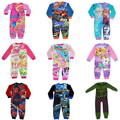 Official Kids Characters Jumpsuit Climbing Pajamas Nightwear Playsuit Crawl Suit