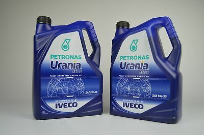 Petronas Urania FE LS 5W-30 2x 5 Litre for IVECO and 6 Diesel Engines