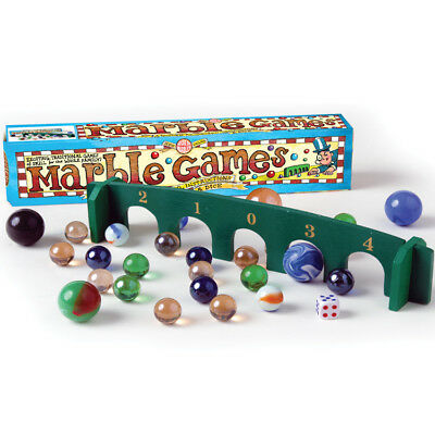 Marble Games Pack  'Table Top size' by House of Marbles