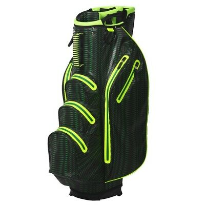 OUUL PYTHON 14 WAY DIVIDER WATERPROOF! GOLF CART TROLLEY BAG 4 Colours