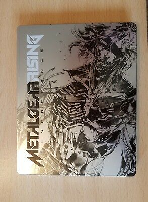 Ps4 Metal Game Case For Metal Gear Rising Revengeance (No Game)