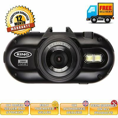 "Ring RBGDC200 In Car 2.0"" Display Dash Cam GPS Journey Recorder HD Camera Video"