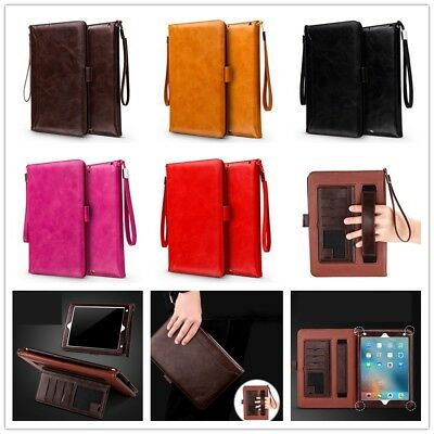 Shockproof Leather Slim Card Smart Stand Case Cover For Apple iPad Mini 234 Air