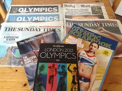 London Olympic 2012 Newspapers