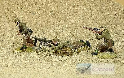 Ww2 British Infantry Africa Desert Rat 1:32 Painted Figure Soldiers 21_21102