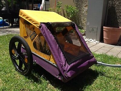 Trailer Bicycle Light weight - fits 2 children
