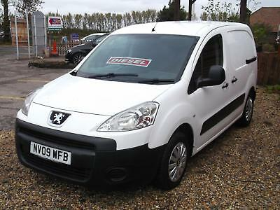 2009 Peugeot Partner 1.6HDi ( 90 ) L1 850 S ready for work only £1995
