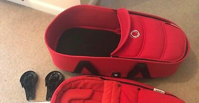 Bugaboo Bee 3 Complete Carrycot Base and bassinet RED