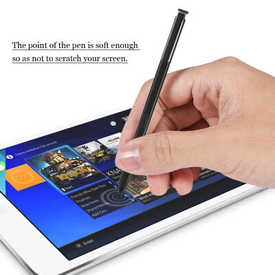 Touch Capacitive Stylus S-Pen Replacement For Samsung Galaxy Note 8 Black New BT