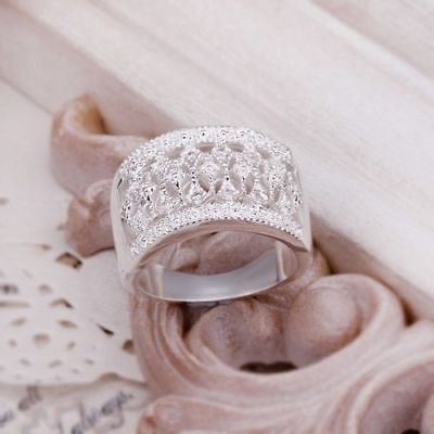 FREE P&P Fine Jewellery Gift Solid 925 Sterling silver charm Ring Xmas Gift