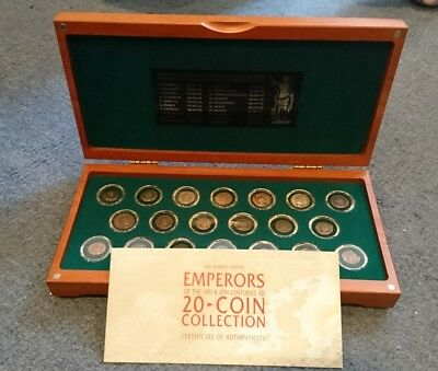 The Roman Emperor Collection Bronze Coin Set, Royal Mint, Unusual, Collectable