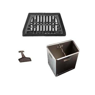Baxi Burnall Fire Grate, Ashpan and Lifting Key (Various Sizes) FREE POSTAGE